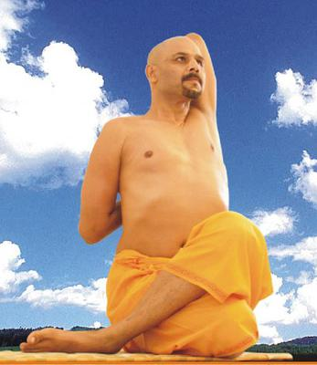 Gomukhasana  (Cows Face Pose)