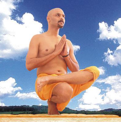 Pada angushthanasana (Tip Toe Pose)