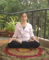 padma asana or lotus pose is ideal pose for meditation and