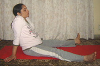 Sitting Pose For Relaxation