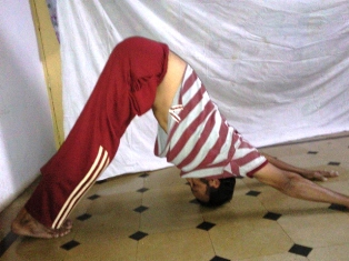 Parvatasana - Mountain Pose