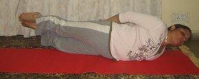 Sarp Asana (Snake Pose)