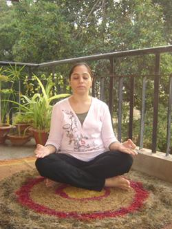 Sukh Asana (Easy Pose)
