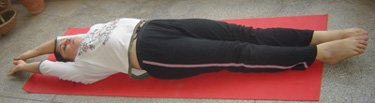 Tadasana (Supine Position)